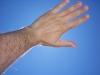 La mia mano!