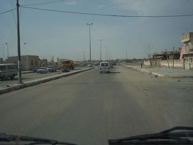 Roads of Nassiriyah